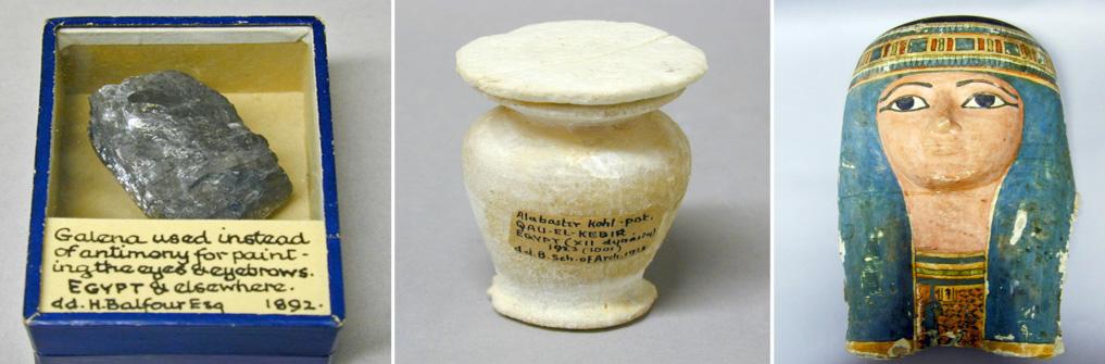 Pitt Rivers Museum Body Arts Ancient Egyptian Make Up