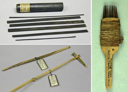 Pitt Rivers Museum Body Arts | Naga tattooing tools