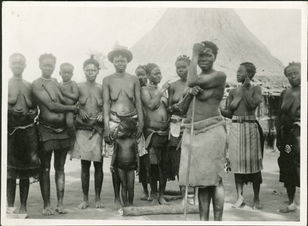 b0c9c3192d215 Wives   daughters of a Zande prince (1998.341.224.2) from the ...