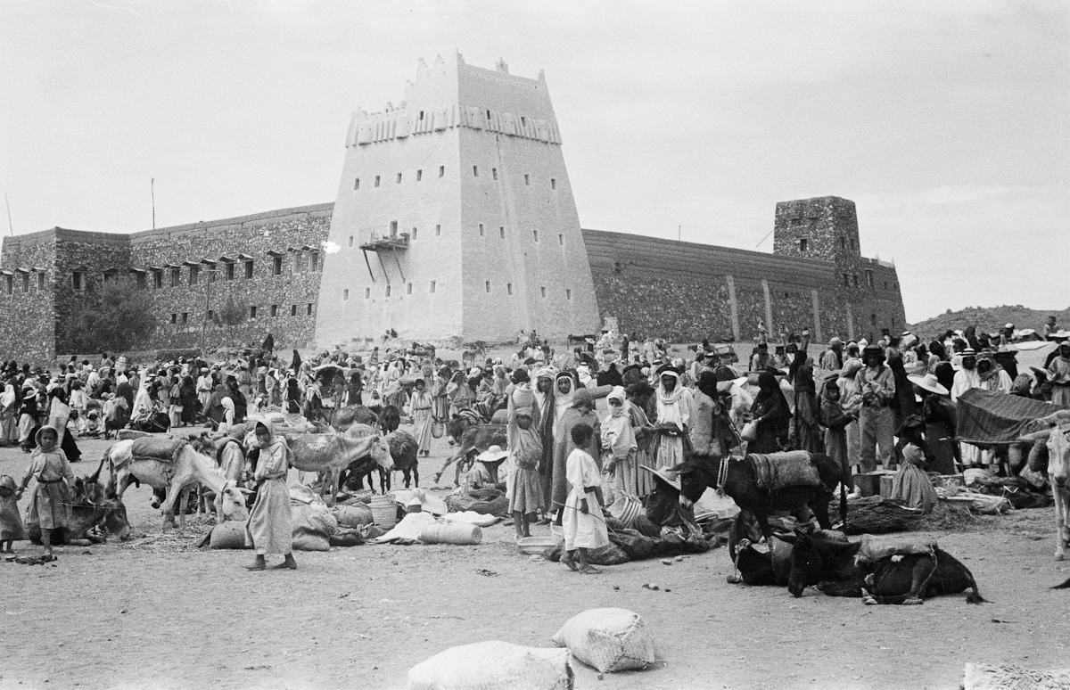 Journey biographies | Thesiger's Journeys in Arabia - Hejaz, Saudi Arabia, 1946